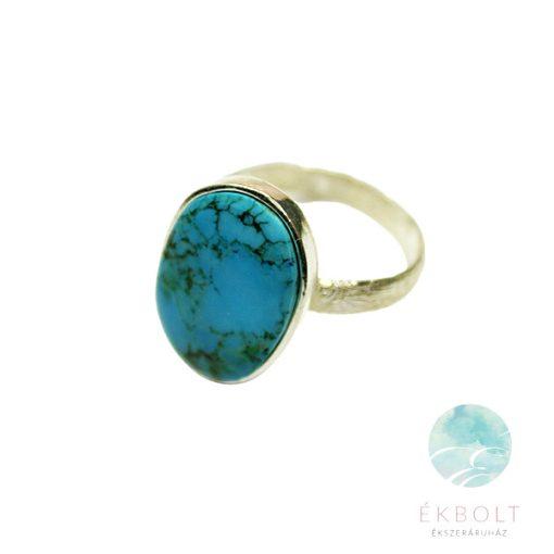 Ezüst gyűrű türkiz kővel 69648
