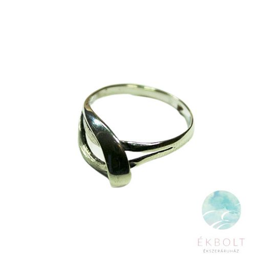 Felületkezelt ezüst gyűrű 71612