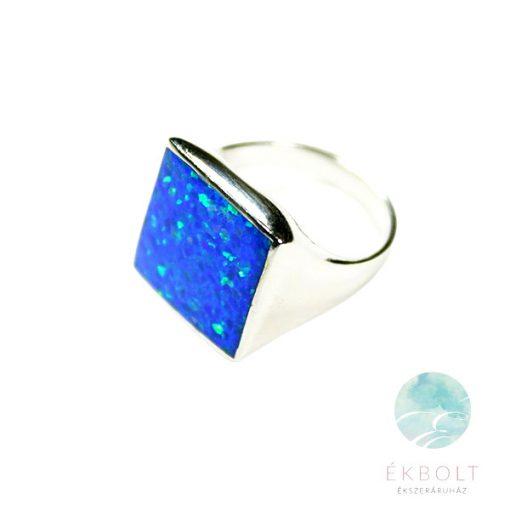 Ezüst gyűrű opál kővel 73241