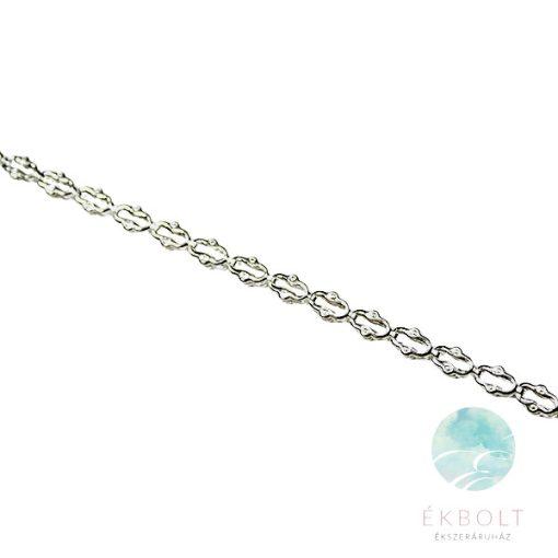 Felületkezelt ezüst nyakék 74011