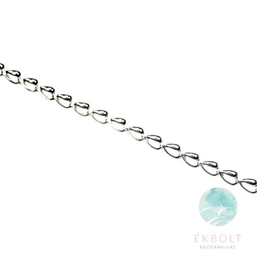 Felületkezelt ezüst nyakék 74014