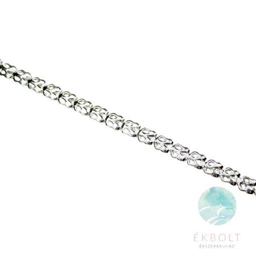 Felületkezelt ezüst nyakék 74016